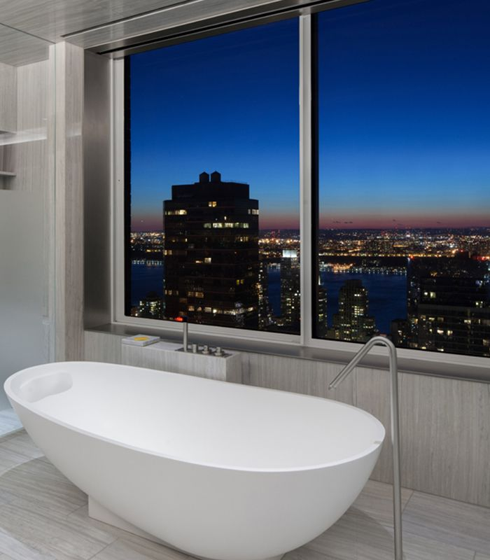 Night and Day in Penthouse Manhattan | Home Adore
