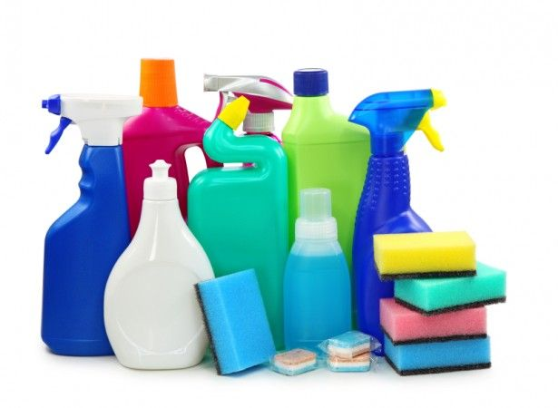 Healthy Home - getting rid of toxic cleaning products