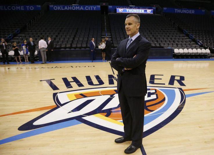 Billy Donovan Introduced As OKC's Coach - http://gazettereview.com/2015/05/billy-donovan-introduced-as-okcs-coach/