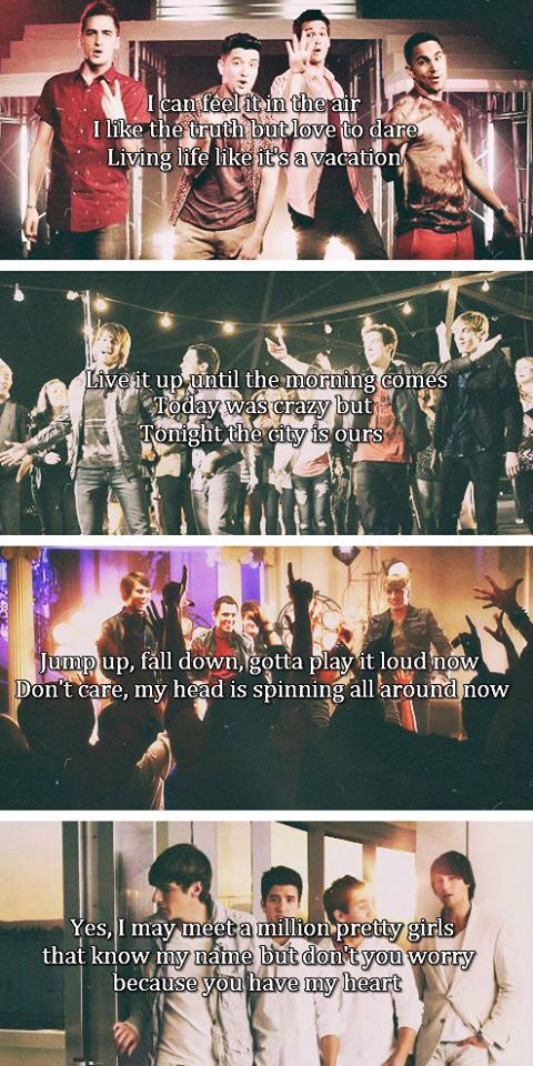 24/seven, City is Ours, Till I Forget About You, & Worldwide- Big time Rush