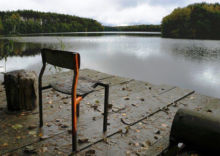 Jezioro Smolne- kładka.