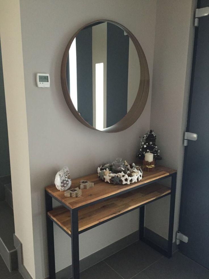 les 25 meilleures id es de la cat gorie console d entree sur pinterest console bois consoles. Black Bedroom Furniture Sets. Home Design Ideas