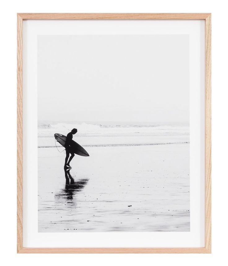 surf print 64 x 79 - Coastal Living