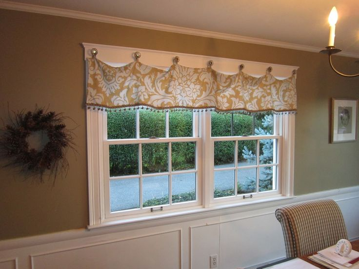Simply Vintage By The Sea Fun Window Treatment For The