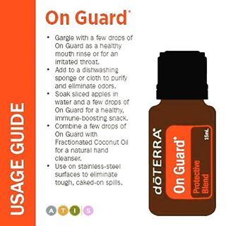 "The uses for On Guard are literally endless. It's one of our top-used oils. It's a #top10 ""foundational"" oil that's essential to every family's oil collection -www.mydoterra.com/desertbloomessentialoils"