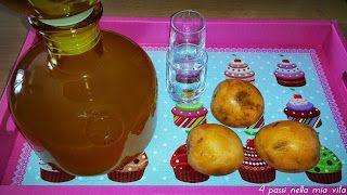 4 passi nella mia vita: Liquori fatti in casa: Il Nespolino (simil Amarett...