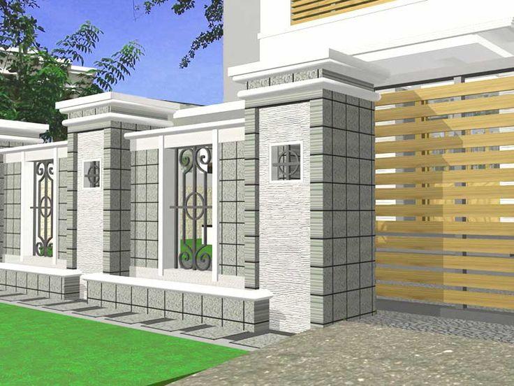 Pentingnya Pagar Rumah Minimalis Pada Rumah Minimalis - http://www.rumahidealis.com/pentingnya-pagar-rumah-minimalis-pada-rumah-minimalis/