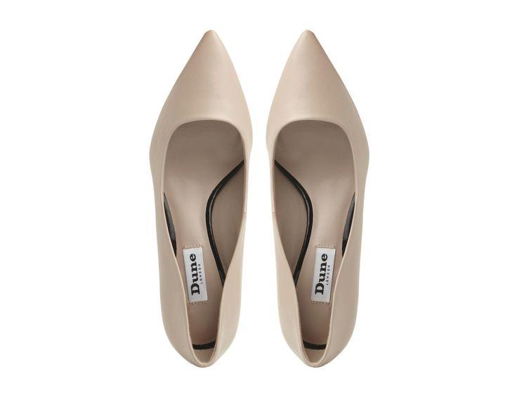 DUNE LADIES ANNIELOU - Pointed Toe Kitten Heel Court Shoe - blush | Dune Shoes Online