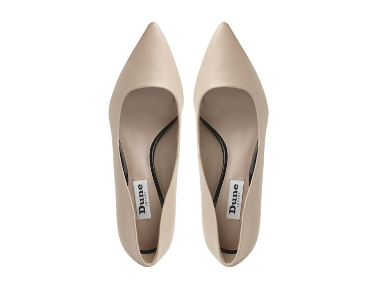 DUNE LADIES ANNIELOU - Pointed Toe Kitten Heel Court Shoe - blush | Dune Shoes Online