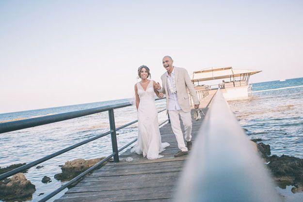 Palm Beach Plaj Düğünü Fotoğrafları - Düğün Fotoğrafçısı Ufuk Sarışen