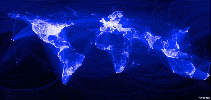 Mapping the world with Facebook, from the BBC