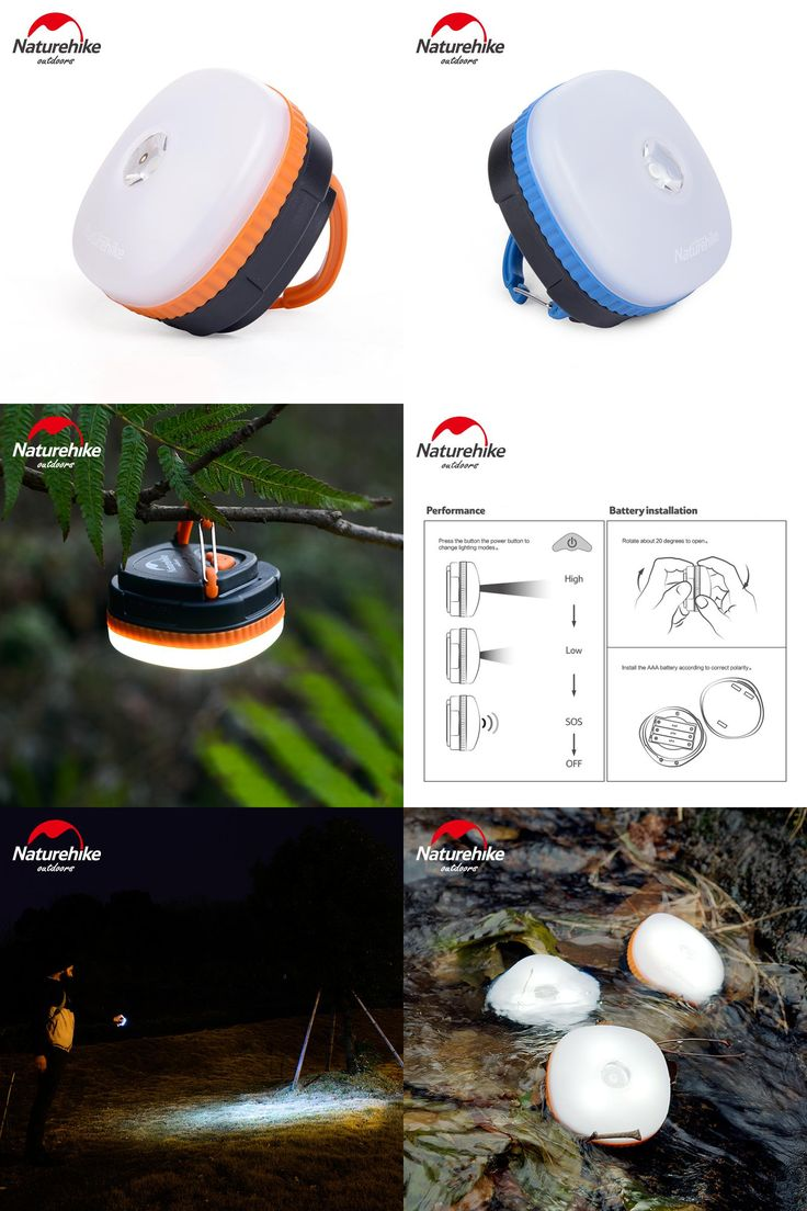[Visit to Buy] NatureHike Outdoor LED Camping Lantern LED Tent Light Waterproof Soft Light Outdoor Hanging Led Camping Tent Light #Advertisement
