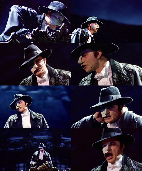 Ramin Karimloo as The Phantom of the Opera **LOOK AT THAT AWESOME HAT