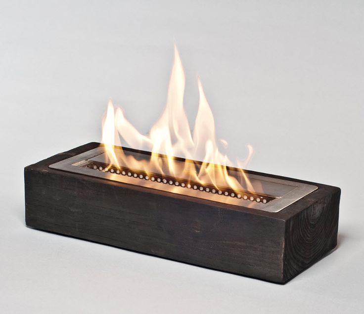 "16.5"" Sienna Slim Fireplace Reclaimed Elm Modern Fireplace"