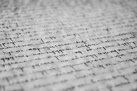 Manuscrit, Écrit, Papier, Vieux, Lettre