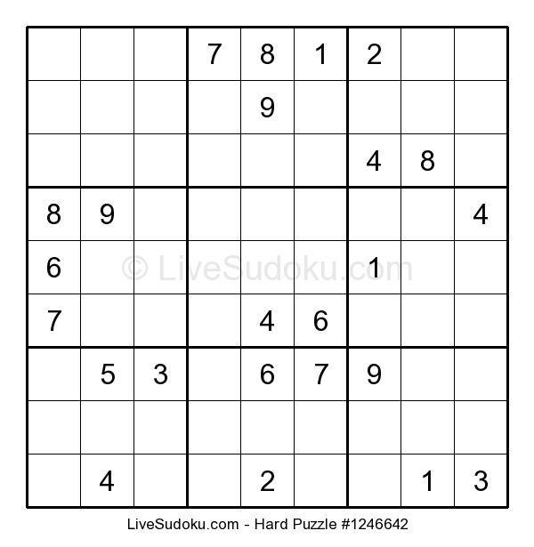 #Printable #Difficult #Sudoku