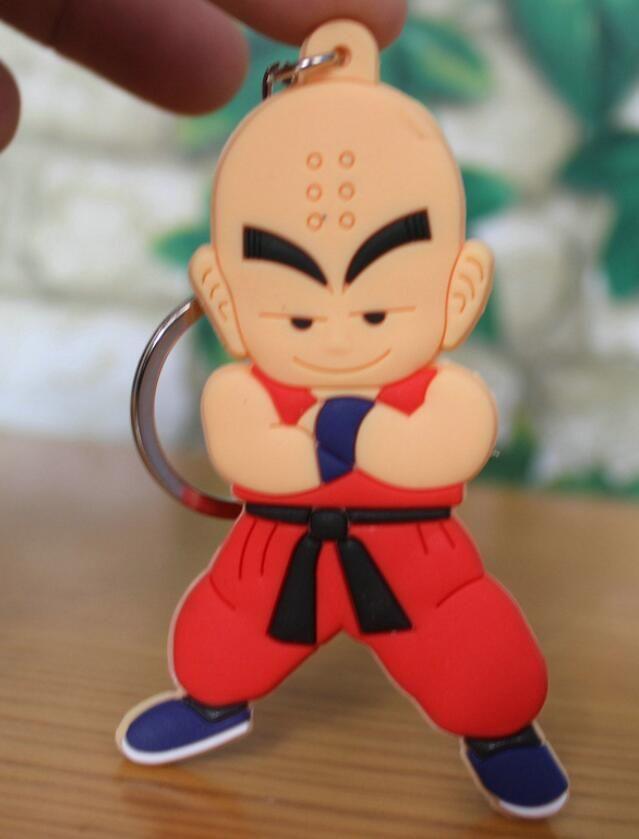 Dragon Ball Z SonGoku #Krilin PVC-Jouets avec porte-clés en PVC