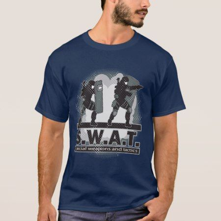 SWAT Team Entrance T-Shirt - tap, personalize, buy right now!