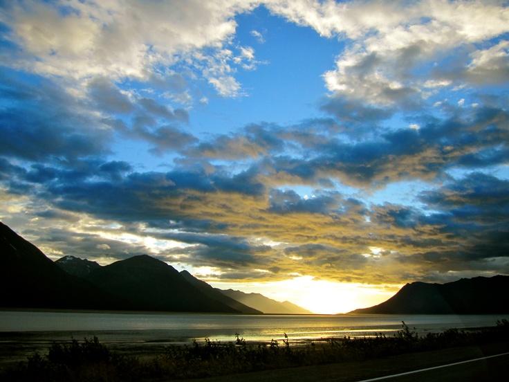 Seward Highway,     Turnagain Arm on the Kenai Peninsula in Alaska <3