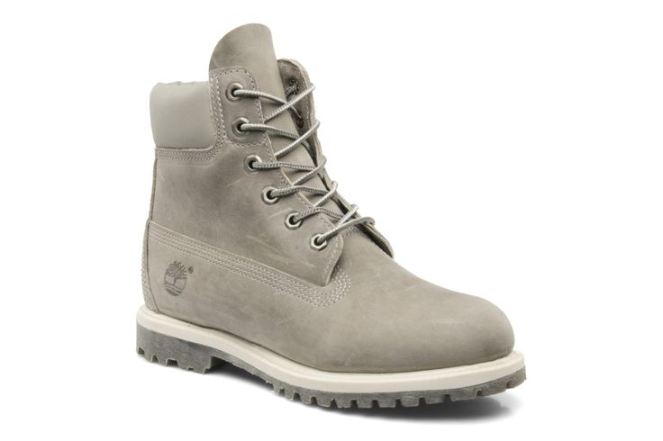 Timberland 6 in premium boot w gris