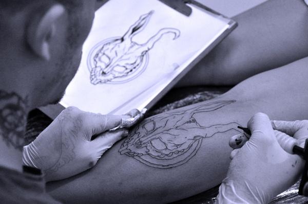 Donnie Darko Tattoo by ILUSTRUTURA , via Behance