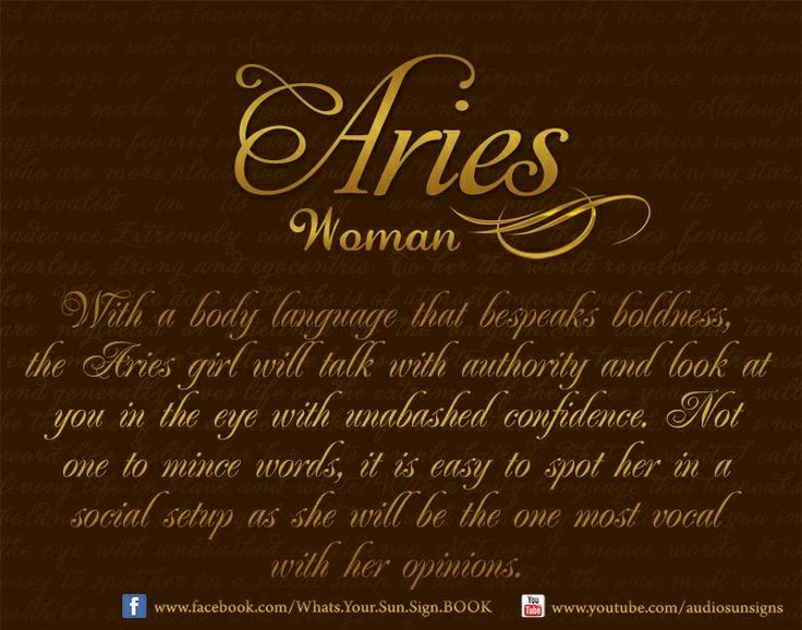 A Simple Relationship Horoscope for Aries the Ram