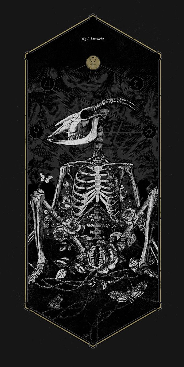 The Anatomy of Sin by Mimetica, via Behance Tshirs available! http://mimetica.bigcartel.com