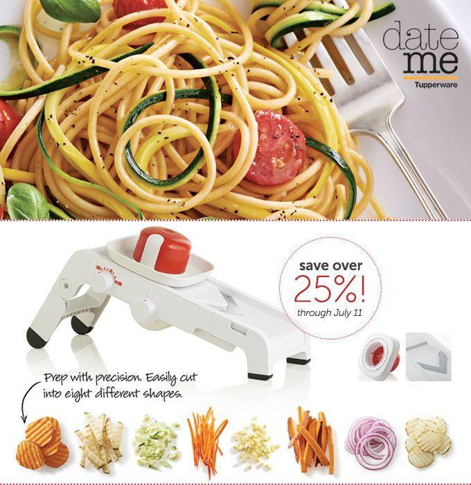53 best images about tupperware mandolin recipes zest n press on pinterest easy pasta salad - Mandoline cuisine tupperware ...
