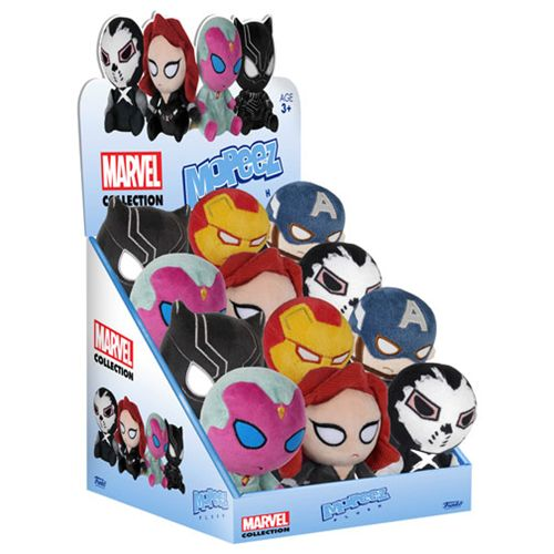 Captain America: Civil War Mopeez Plush Display Case - Funko - Captain America - Plush at Entertainment Earth