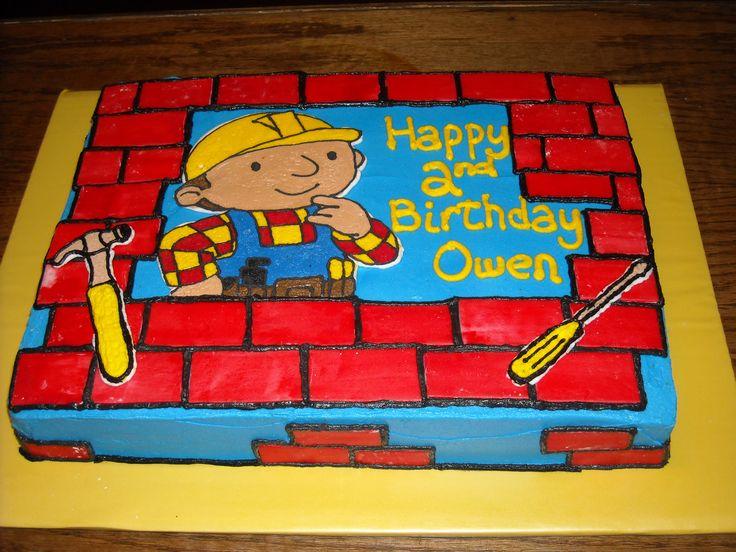 bob builder cake ideas | Bob the Builder