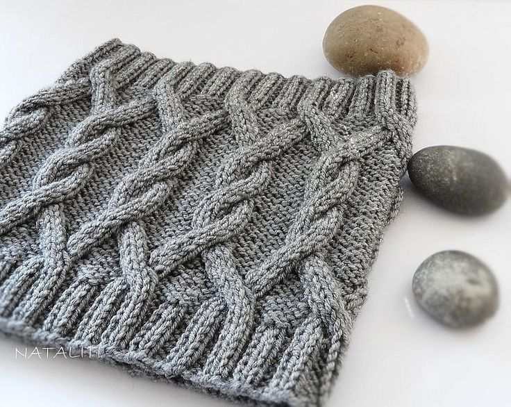 Купить Шарф-снуд Stonehenge - серый, шарф, снуд, шарф-снуд, шарф вязаный