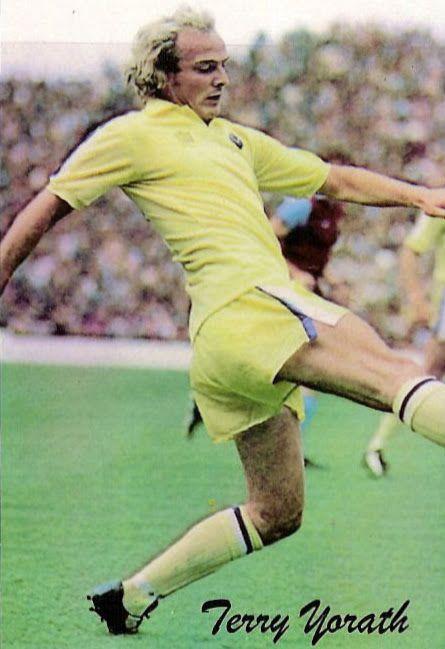 Terry Yorath of Leeds Utd in 1975.