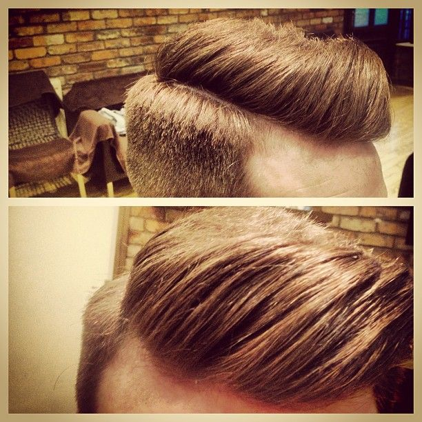 quiff - I don't even care that this is a man, I want to do my hair like this.