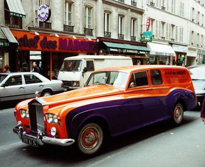 Orange & Blue Rolls Royce wagpn