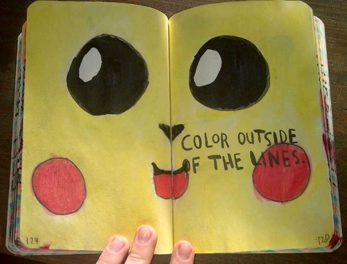 Color Journal Ideas : 159 best wreck this journal images on pinterest