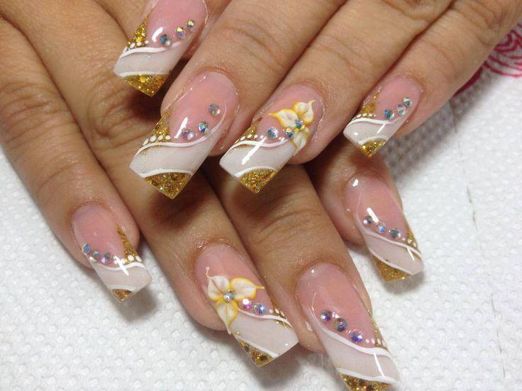 Mejores 102 imágenes de Uñas acrilicas en Pinterest | Arte de uñas ...