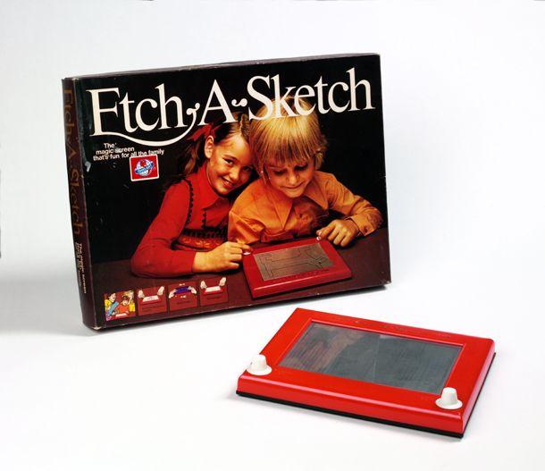 Etch-a-Sketch, UK 1970s Museum no. B.105-2004