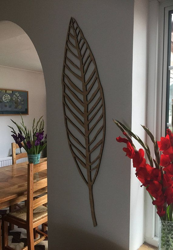 Leaf Wall Decoration Wooden Leaf Large Wooden Leaf Wall