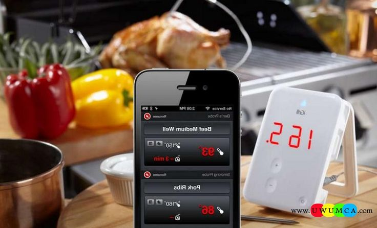 Kitchen:IGrill Unique Quality Kitchen Gadgets For Seniors Men Healthy Eating High Tech Storage Solutions DIY Electrical Kitchens Gadget Tablet Design Ideas (1) Unique and Quality DIY High Tech Kitchen Gadgets to Drool Over