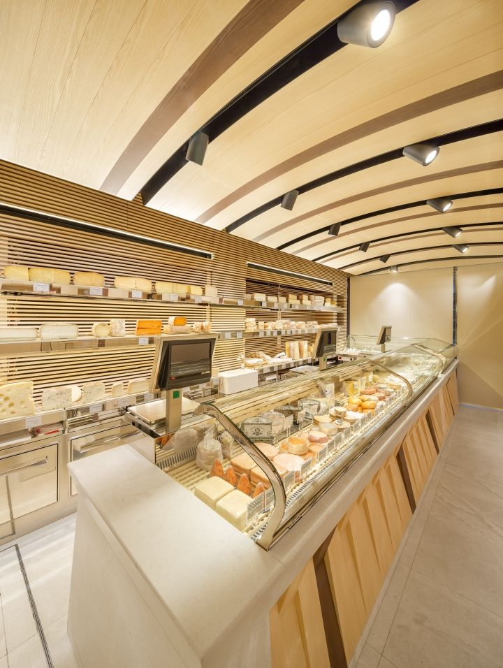 Fromagerie Allosse Store By AMlab Paris France FoodRetail Interior DesignParis 2015Commercial