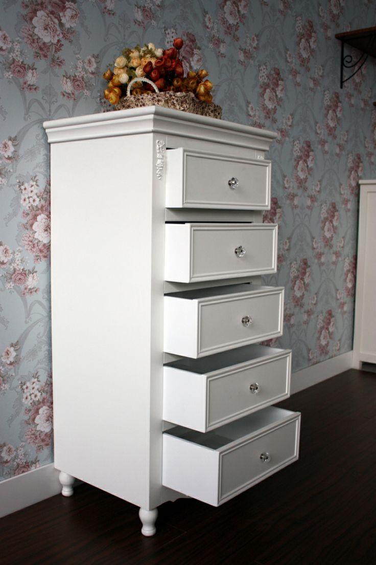 Большая пятерка белый современный минималистский сад насосных Курион корейских садовая мебель Ду шкаф / ящики / шкафчики - Taobao