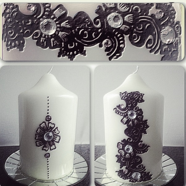 candle designs  18th  Pinterest
