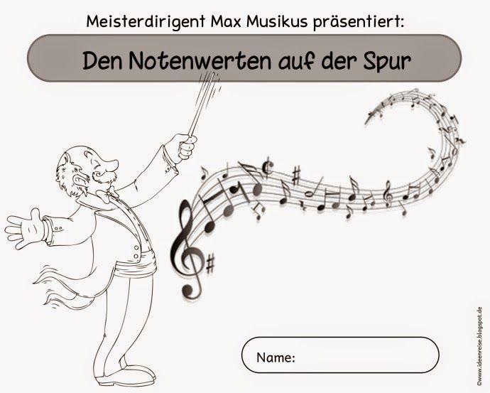 """Musik in der Grundschule: Arbeitsheft """"Den Notenwerten auf der Spur"""""""