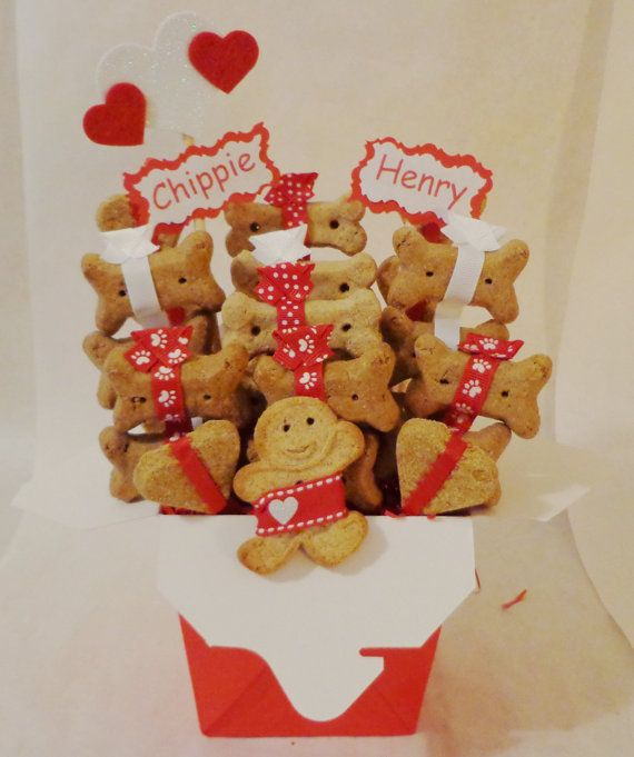 Personalized Valentines Day Dog Treats Christmas Gift Shop
