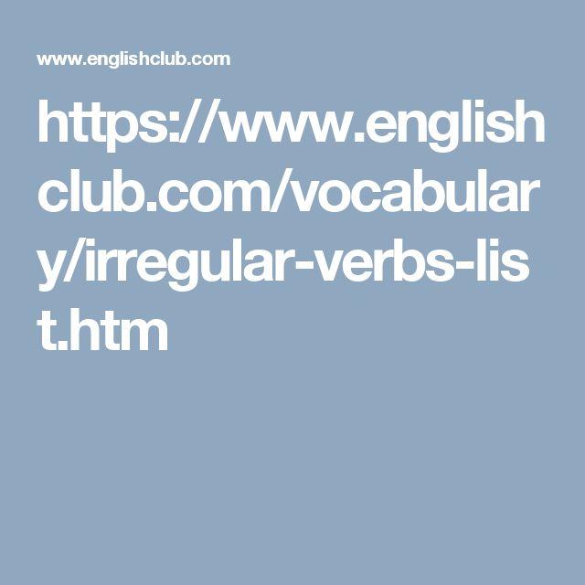 spanish irregular verbs list pdf