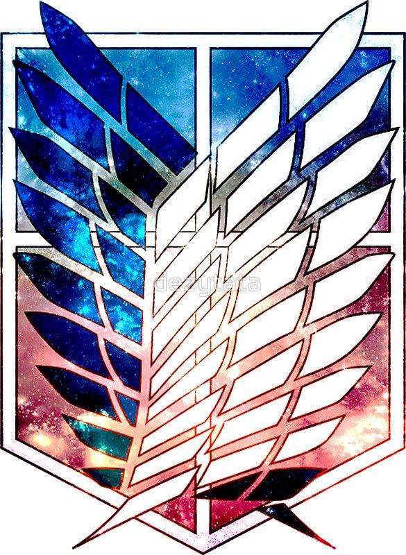 scout legion Attack on Titan galaxy shingeki no kyojin anime