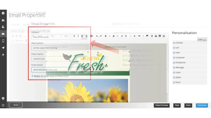 How to create and send your newsletter in Everlytic