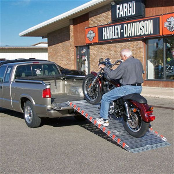 how to make a dirt bike ramp for truck