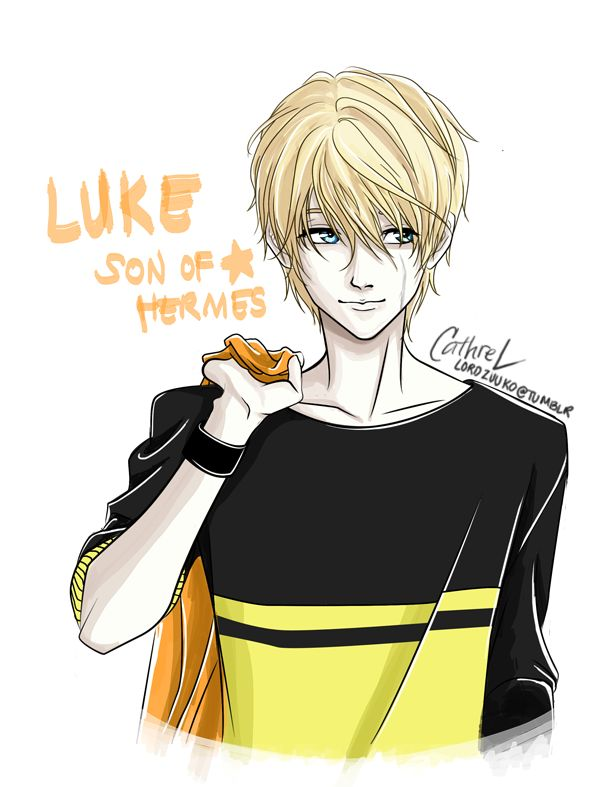 Percy Jackson Hermes Drawing Luke: Son of Hermes by...