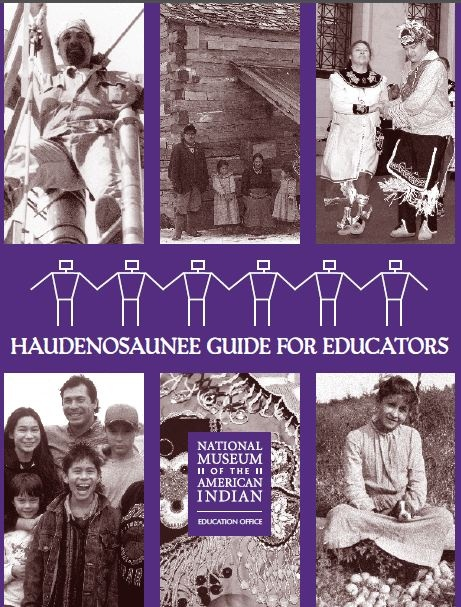 """""""The Haudenosaunee Guide for Educators"""" (grades 3–8, with lesson plans and activities) is a great resource.  Haudenosaunee, 'People of the Longhouse', are also known as Iroquois, native people of central New York State.  Page 11 of the guide discusses the significance of the crops beans, corn, and squash—also known as Three Sisters.  Free PDF download from National Museum of the American Indian. 24 pages. http://nmai.si.edu/sites/1/files/pdf/education/HaudenosauneeGuide.pdf"""
